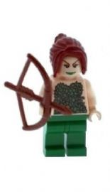 Poison Ivy with Bow - Custom Designed Minifigure